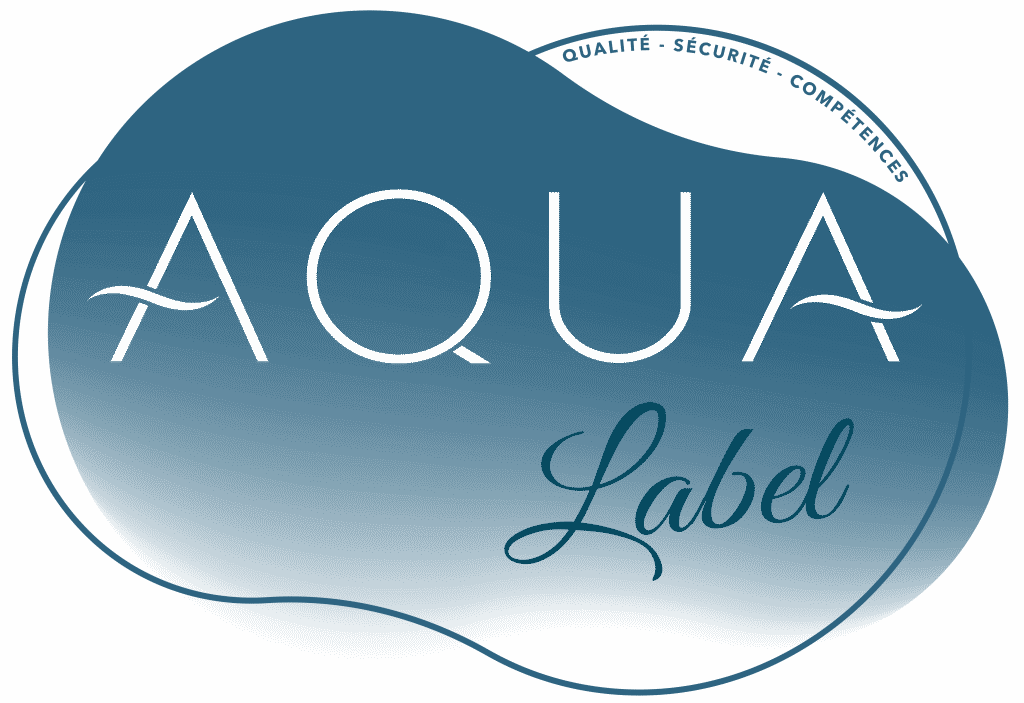 Logo du labal Aqua (photographe aquatique certifié)